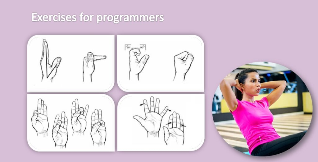 Exercises Wrist and fingers programmers